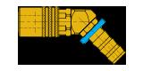 raffreddamenti SVK-PL-45° per stampi