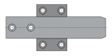 GUIDA CENTRAGGIO FINALE ORIZZONTALE cod. T1320