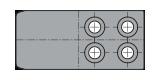 COLONNA QUADRA cod. T18