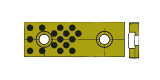 materiale bronzo/grafite SOLP per stampi