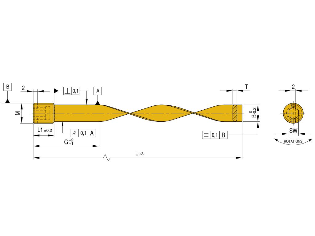 raffreddatori in ottone a spirale BBS METRICO
