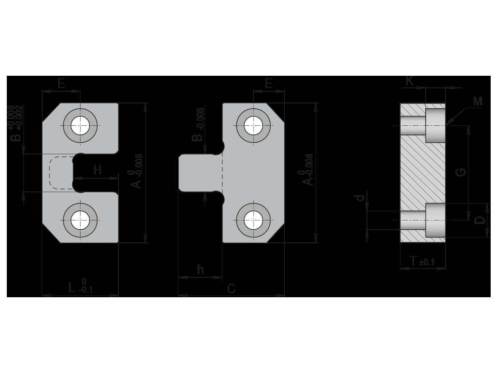 centraggi paralleli CP