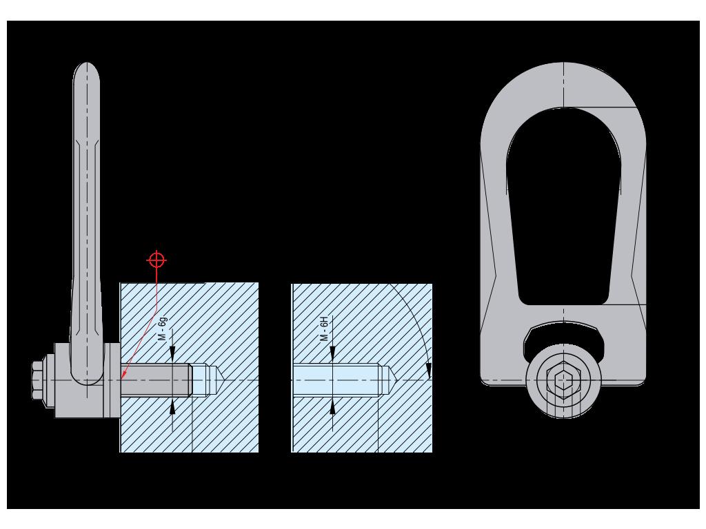 anello con doppia articolazione DSR SS.DSR