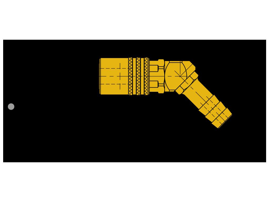 attacchi rapidi 45° con valvola SVK(45°)