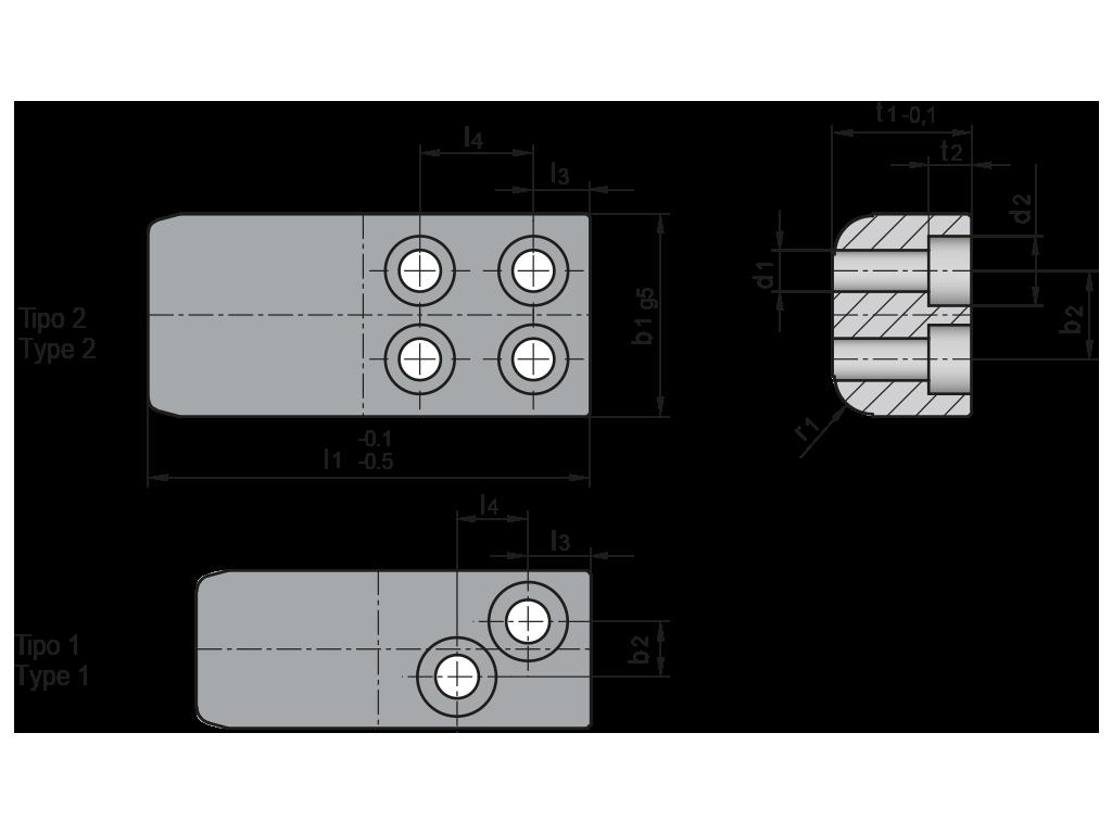 colonna quadra T18