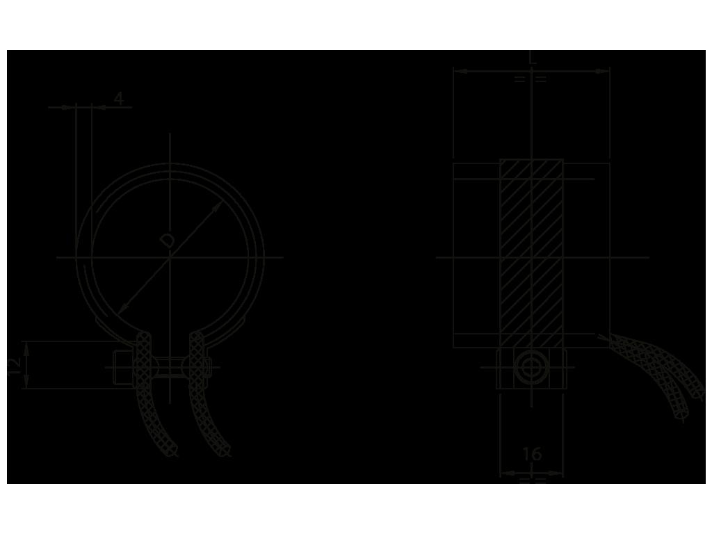 resistenze a fascia per ugelli due fili Z15