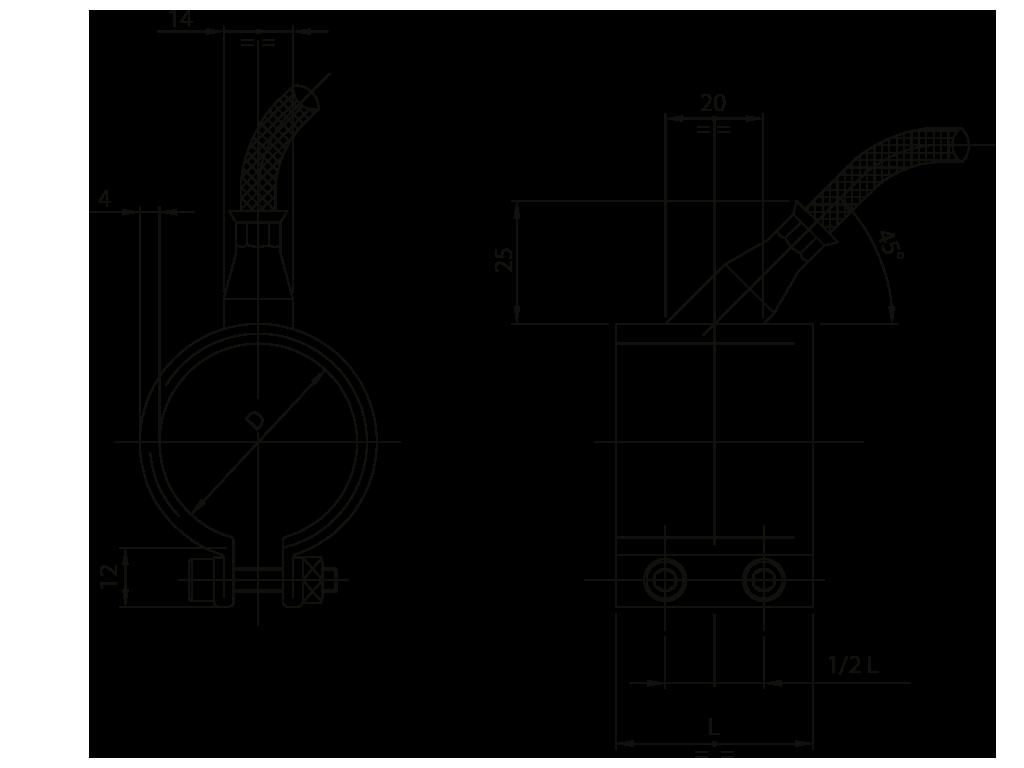 resistenze a fascia per ugelli acciaio Z17