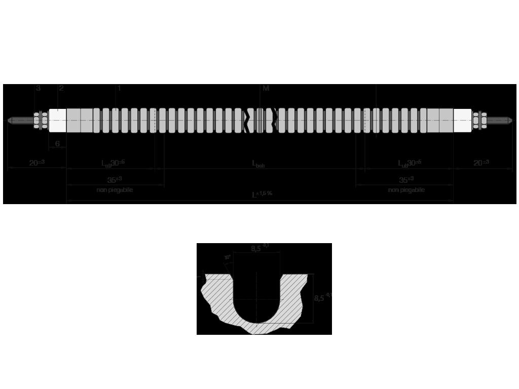 riscaldatore tubolare flessibile Z73