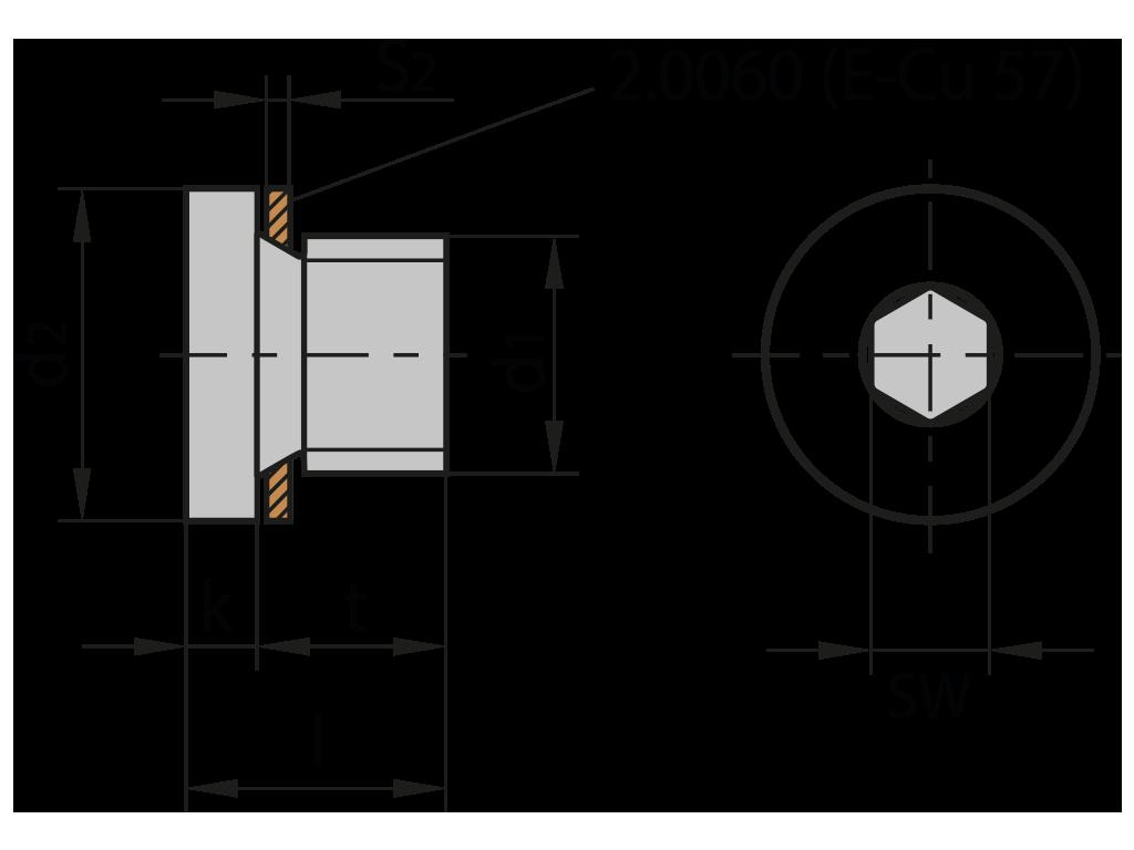 tappo di chiusura z941 Z941