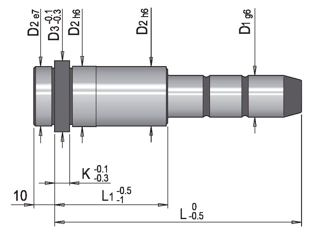 colonna guida spallata EC1S