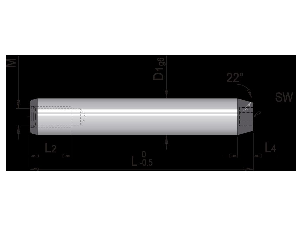 colonna inclinata senza testa europea T074