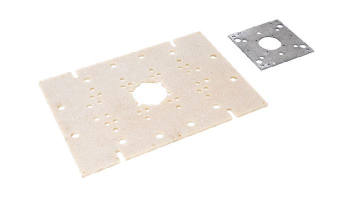 Piastre normalizzate per stampi plastica e pressofusione   piastre-isolanti